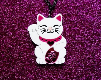 Maneki neko - Love cat necklace