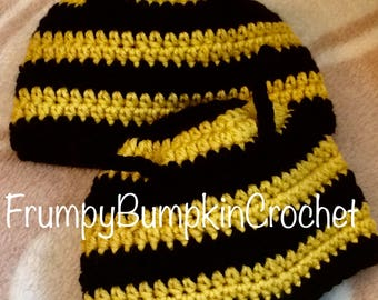 Bumble Bee Baby Hat!