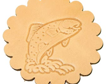 Trout Leathercraft 3-D Stamp 88345-00