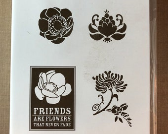 Stampin Up Friens Never Fade Stamp Set