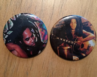 LENNY KRAVITZ  Pins  Badge funk rock