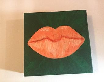 Orange you glad yo lips