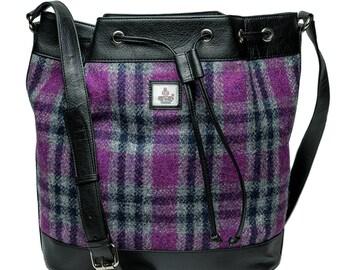 Harris Tweed Bucket Bag