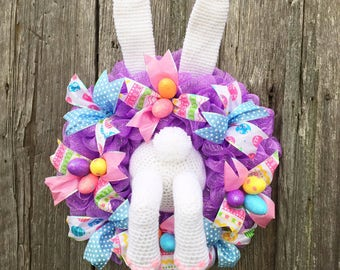 Bunny Butt Crochet Pattern Digital Download Easter Spring