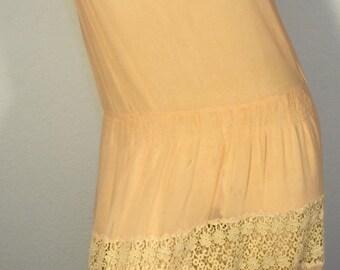 FREE  SHIPPING  1920 Silk Lace Dress