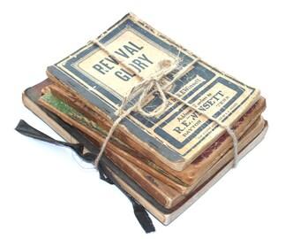 Vintage Paperback Books / Hymnals