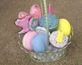 Spring Easter American Girl Doll AG Basket Candy Cookies Cupcake SALE