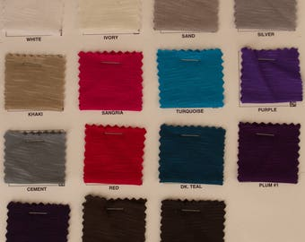 """Rayon Slub Jersey Knit By The Yard""""RNSL1M"""""""
