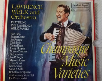 Lawrence Welk And Orchestra Champagne Music Varieties