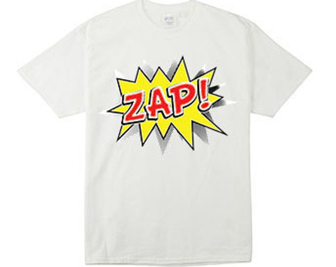 Zap Action Bubble T-Shirts for the whole family
