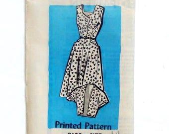 Vintage 50's Mail Order Dress & Bolero Pattern #9102 - Size 14 (Bust 34) - Factory Pre-Cut, Factory Folded