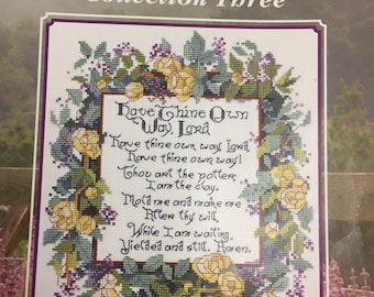 Leisure Arts America's Best Loved Hymns  Collection Three 12 Cross Stitch Designs