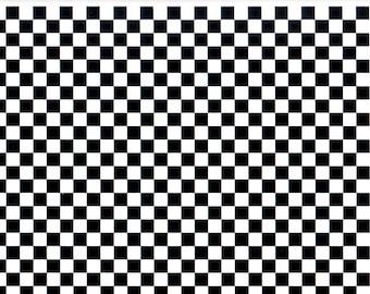 Ceramic transfers,1400-1562 ºF,  ceramic color sheet, decals ceramics, black decals, chessboard ceramic decals, chessboard decals, black