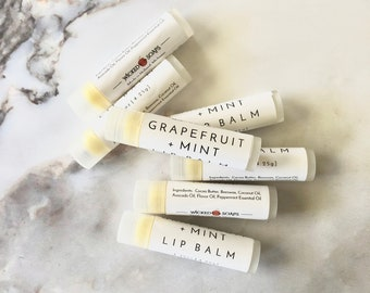 GRAPEFRUIT + MINT Lip Balm