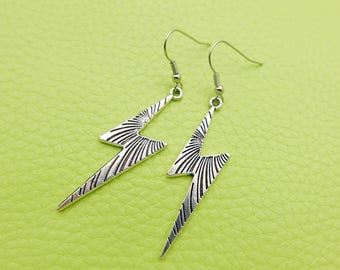 Foudre/lightning Earrings stainless steel