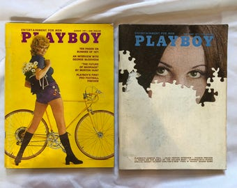 Playboy 1971 August and September