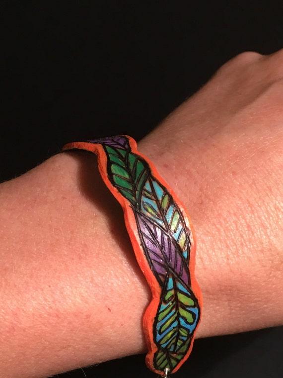 "Bracelet ""Parade of Leaves"""