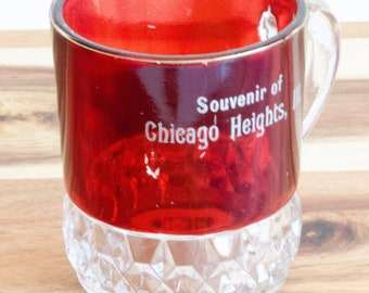 Souvenir of Chicago Heights purchased during the Chicago World's Fair in 1934, vintage