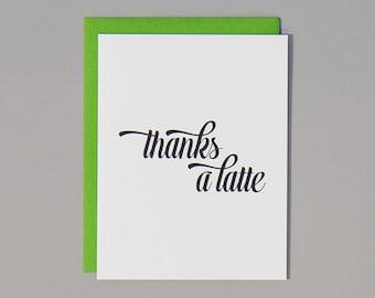 SALE. Thanks A Latte