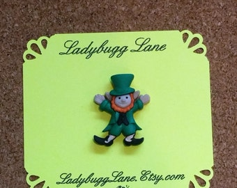 Lucky Leprechaun Pin