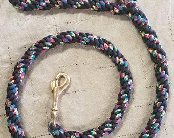 3.5' Crown Braid Dog Leash