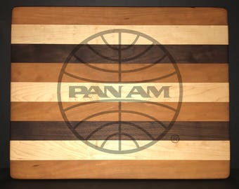 14 X 18 X 1 inch Pan American Airways Bread/Cheese Board