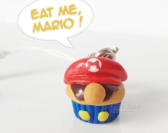 Mario Cupcake Strap Charm