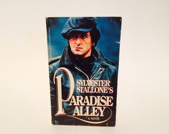 Vintage Pop Culture Book Paradise Alley by Sylvester Stallone 1978 Movie Tie-In Edition Paperback