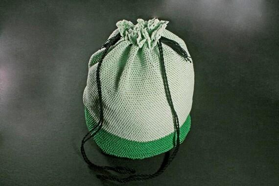 Handbag Tote, Tote Bag, Beach Tote Bag, Market Tote Bag, Crochet Netted Tote Bag, Leather Bottom Tote Bag, Drawstring Tote Bag