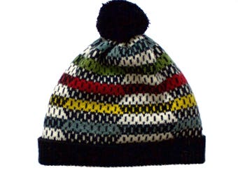 Dot Dash Lambswool Hat