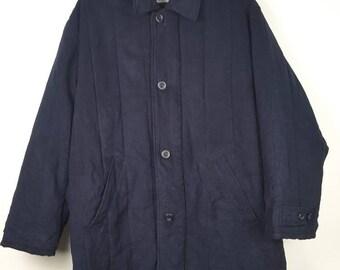 Vintage CHRISTIAN DIOR MONSIEUR Wax Cotton Long Jacket