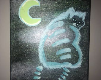 Original chesire cat painting