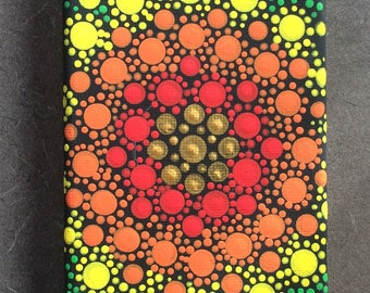"Dot Art Canvas original 3""x 9"""