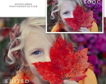 Photo Editing, Photoshop Actions, Photoshop Presets, Portrait Presets, Picture Editing, Retouch, Editable Actions, Colorful Edit