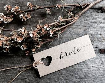 Mini Wedding place cards, wedding name tags, favour tags, place cards, Bonbonniere Tags, wedding favor tags, mini name tags, tag