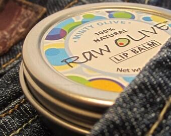 Minty Olive Lip Balm