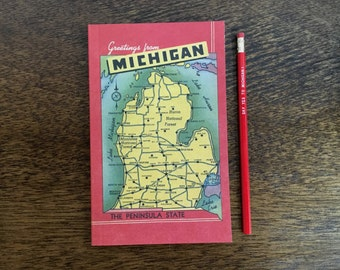 Greeting From Michigan Notebook