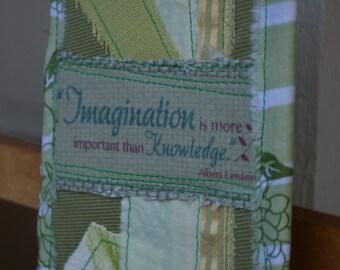 Light Green Doorknob Hanging Art Quilt - Imagination