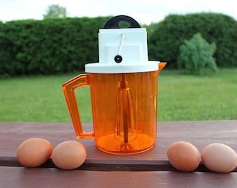 Mechanical mixer Soviet vintage hand mixer Egg beater  Vintage mixer Vintage hand mixer