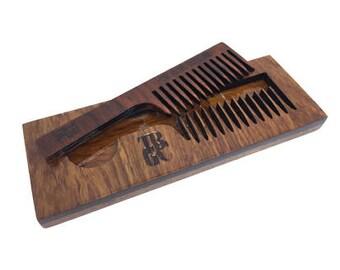Premium Pop Out Wooden Comb