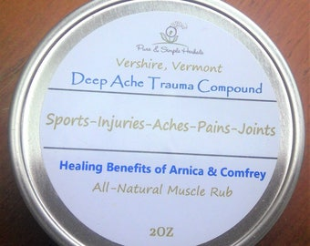 Deep Ache Trauma Compound-Topical Pain Relief