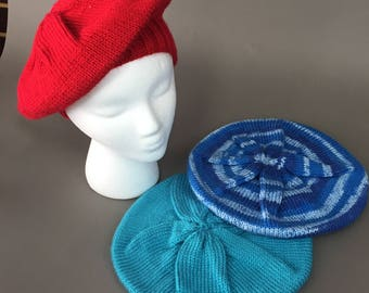 Comfy Hand Knit Slouch Hat