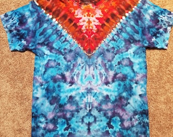 Fire & Ice Adult Large Ice Dyed Tie Dye