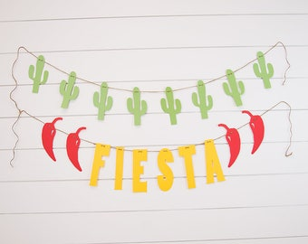 Fiesta Banner Set-Taco Party Banners-Taco Birthday Party-Taco Twosday Birthday Party-Taco Party-Fiesta Party-Second Birthday Party-Taco