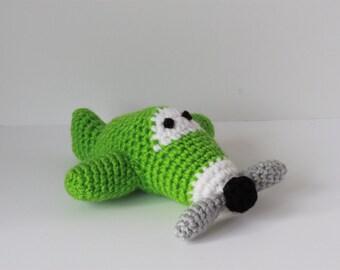 Crochet Mini Airplanes; stuffed toy