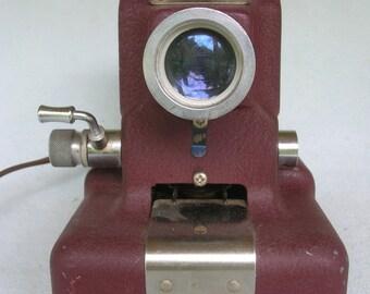 Vintage Metal Working School Film Slide Picture Projector