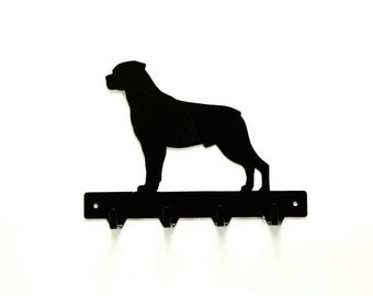 Rottweiler Leash Rack