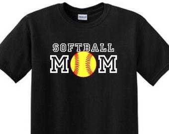 SOFTBALL MOM - T-Shirt