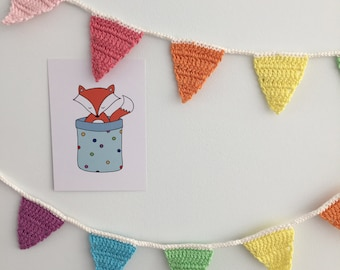 Crochet Rainbow Slinger