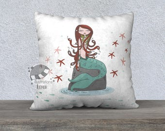 Multiple formats - Unicorn, Flamingo, Mermaid, Daisy Cushion cover